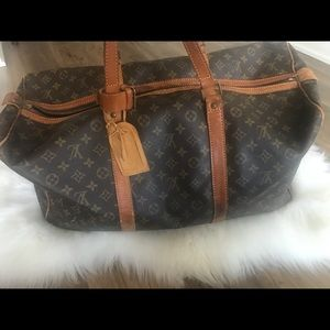 Louis Vuitton Monogram-Keepall 55 Travel Bag